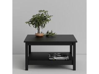 BARCELONA - Coffee Table in Black. W 810 x H 450 x D 810 mm, FREE UK DELIVERY