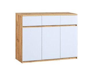 Ice - Sideboard in White, W120.0cm x H94.0cm x D40.0cm