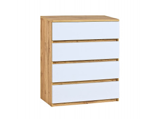 Ice - Chest of 4 Drawers , W80.0cm x H94.0cm x D40.0cm