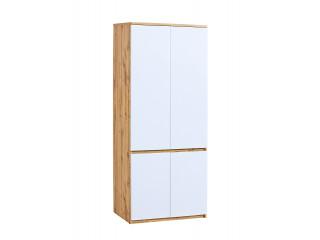 Ice - Wardrobe, W80cm x H195cm x D52cm