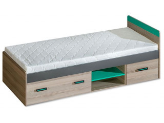 Ultra - Single bed with under drawer