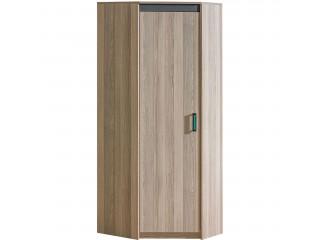 Ultra - corner wardrobe Width: 75.0cm Height : 187.0cm Depth: 75.0cm