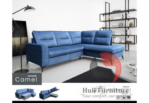 CAMEL - Bespoke, made to measure corner sofa to fit your room and lifestyle