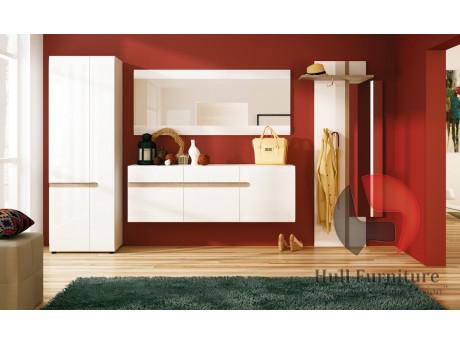 Abbie - Wall Mirror 164 cm Wide in White
