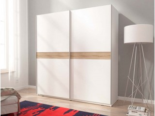 MIKA VI 150cm or 200cm - White  - Sliding door wardrobe