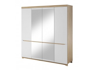 AVA - Wardrobe, Modular Living Room Furniture Size: W 200 x H 213.5 x D62 cm