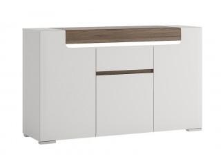Toronto 3 Door 1 Drawer Sideboard Size W 1400 x H 845 x D 422 mm