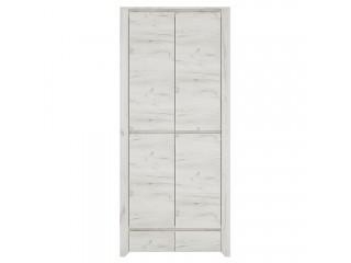 Angel 2 Wardrobe Size W 840 x H 1905 x D 580 mm