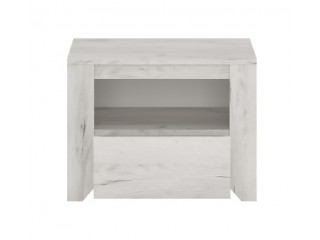 Angel 1 Drawer Bedside Cabinet Size W 491 x H 376 x D 400 mm