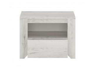 Angel 1 Drawer Bedside Cabinet Size W 491 x H 376 x D 400 mm