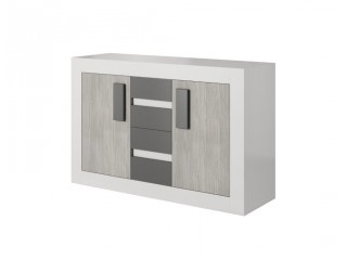 HEAVEN 27 - 4 drawer chest and 2 cupboard W145cm x H97cm x D50cm