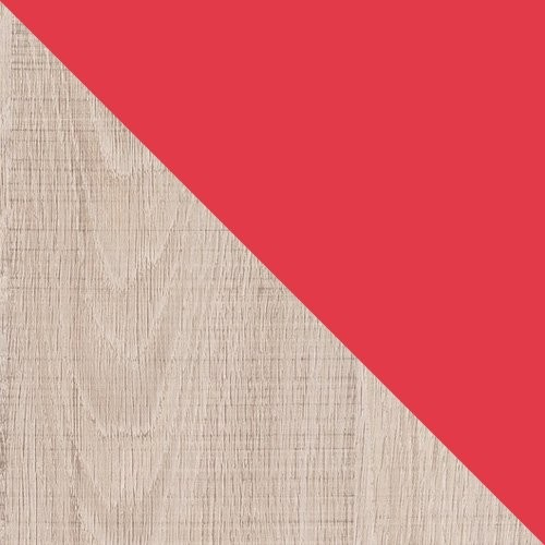 Santana Oak + Red